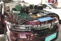 江门本田皓影汽车影音改装丹麦丹拿Esotar系列三分频,欧卡改装网,汽车改装