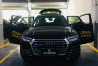 广州奥迪Q5L汽车改装升级四门原厂舒适进入系统,欧卡改装网,汽车改装
