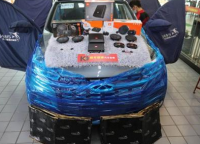 佛山奇瑞瑞虎汽车音响改装JBL DA460DSP功放,欧卡改装网,汽车改装