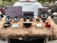 云浮斯巴鲁森林人汽车音响改装洛克力量R663三分频喇叭,欧卡改装网,汽车改装