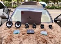 云浮现代朗动汽车音响改装洛克力量R653三分频喇叭,欧卡改装网,汽车改装