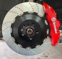 [奥迪A7刹车改装]Brembo GT前六后四刹车卡钳,顶级制动,欧卡改装网,汽车改装