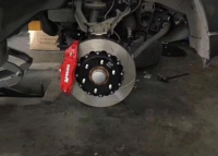 [三菱帕杰罗刹车改装]AP前大四后小四刹车卡钳套装,欧卡改装网,汽车改装