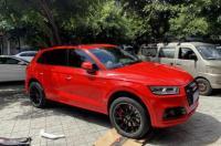 成都奥迪Q5汽车轮毂改装20寸ABT锻造轮毂案例,欧卡改装网,汽车改装