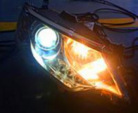东莞丰田凯美瑞车灯改装激光大灯案例,欧卡改装网,汽车改装