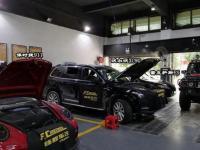 沃尔沃XC90改装全车必拓环保隔音+前排怡然通风座椅系统,欧卡改装网,汽车改装
