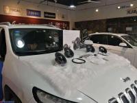 呼和浩特JEEP自由光汽车音响改装漫步者GF651套装喇叭,欧卡改装网,汽车改装