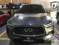 深圳英菲尼迪QX50车灯改装流水转向灯,欧卡改装网,汽车改装