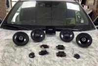 呼市丰田汉兰达汽车音响改装漫步者SF651C套装喇叭,欧卡改装网,汽车改装