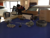 呼市汽车音响改装马自达CX4改装漫步者SF651B套装喇叭,欧卡改装网,汽车改装