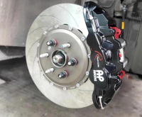 [凯迪拉克XT5刹车改装]AP8520大六刹车卡钳,帅气制动,欧卡改装网,汽车改装