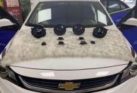 呼和浩特汽车音响改装雪佛兰迈锐宝改装漫步者SF651B套装喇叭,欧卡改装网,汽车改装