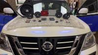呼和浩特汽车音响改装日产途乐改装歌航A4ProHIFI主机,欧卡改装网,汽车改装