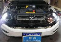重庆车灯改装 大众途观改装NHK LED智能双光透镜,欧卡改装网,汽车改装