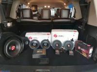 长沙汽车音响改装 日产途乐改装德国斯洛琴S-662二分频套装喇叭,欧卡改装网,汽车改装