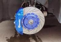 [传祺M8刹车改装]Brembo大六活塞卡钳,饱满帅气制动撩妹,欧卡改装网,汽车改装