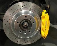 [保时捷帕拉梅拉刹车改装]阿基波罗10活塞刹车卡钳套件,欧卡改装网,汽车改装