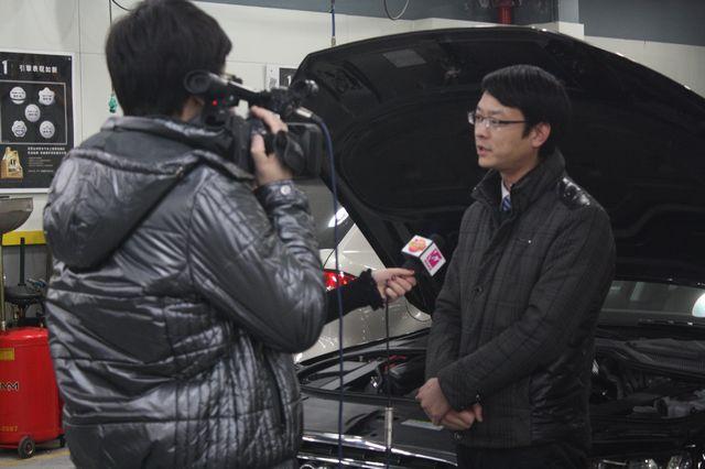 芜湖电视台再次来伟达美途采访