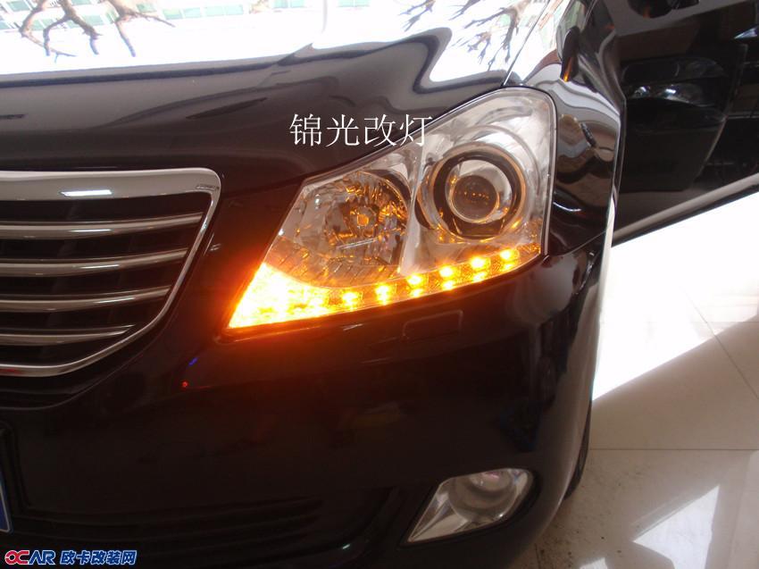 丰田皇冠改装灯光