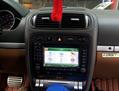 倒车更方便  保时捷卡宴改装显示屏,欧卡改装网