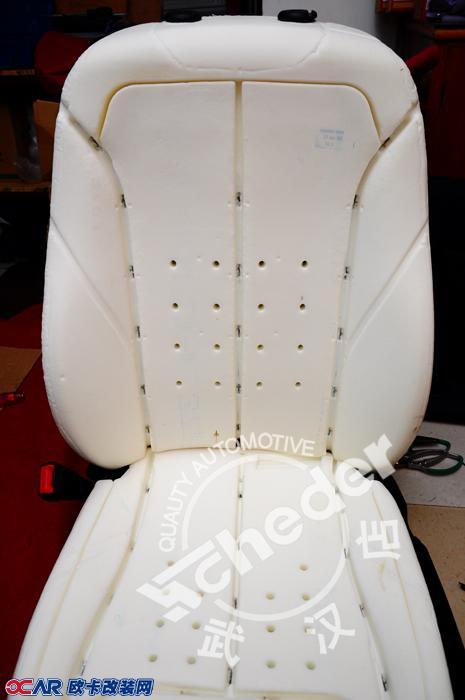 宝马1系真皮座椅改装高清图片