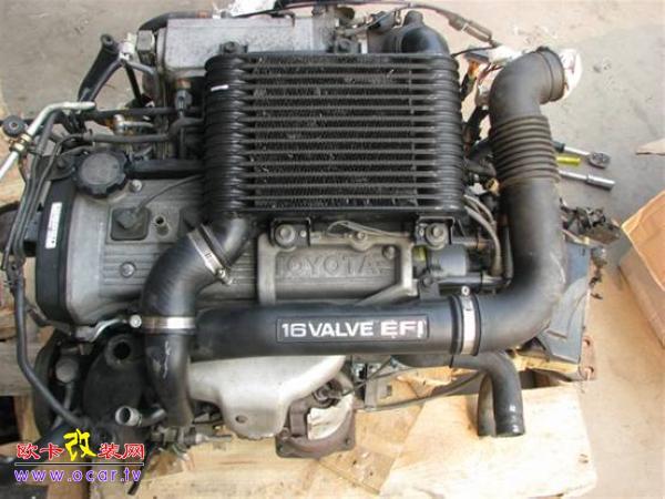 f0改装丰田4age发动机!