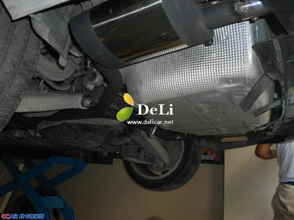 奥迪A4L改装排气