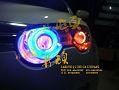 荣威550灯光升级,欧卡改装网,汽车改装