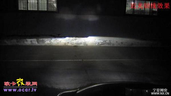 欧卡改装网,改装案例,雪佛兰景程改灯光