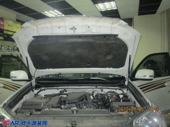 欧卡改装网,改装案例,丰田普拉多音响升级