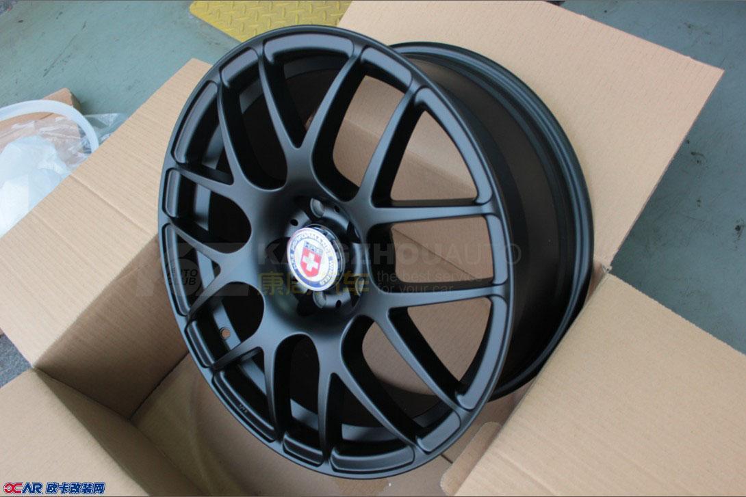 欧卡改装网,改装案例,福特福克斯改装轮毂与卡钳喷漆 高清图片