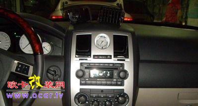 克莱斯勒300C音响面框制作,欧卡改装网,汽车改装