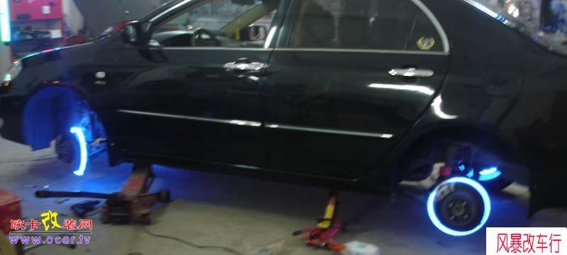 轮胎加装超级无敌风火轮,欧卡改装网,汽车改装