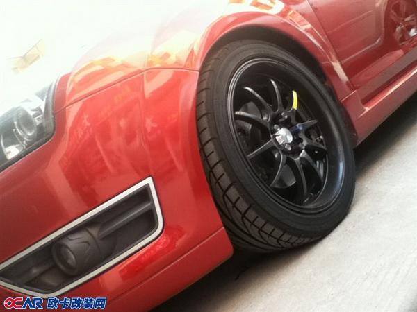 福特福克斯改装轮胎轮毂