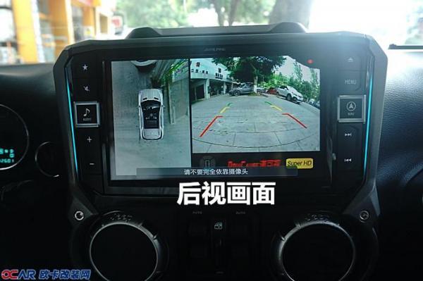 循环录像_还自带四路行车记录仪,四个摄像头同时记录四周影像,循环录像,可随时