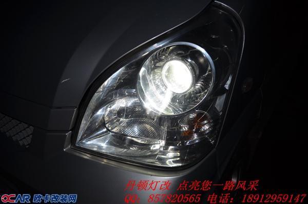 五菱面包车车灯升级近光位