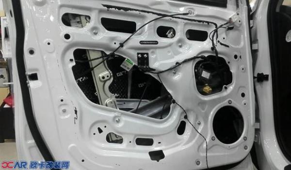 瑞虎7音响升级德国oiio欧艾x516两分频