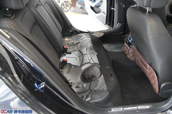低音的魅力-大众迈腾汽车音响系统加装美国捷力(jl)低音炮