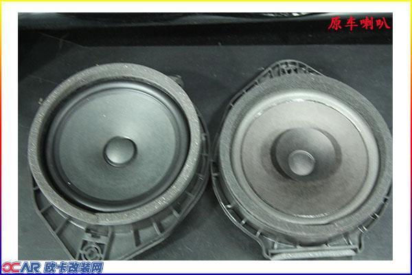 后声场:美国霸克 cx650 同轴喇叭 隔音材料:平静四门隔音 别克英朗原