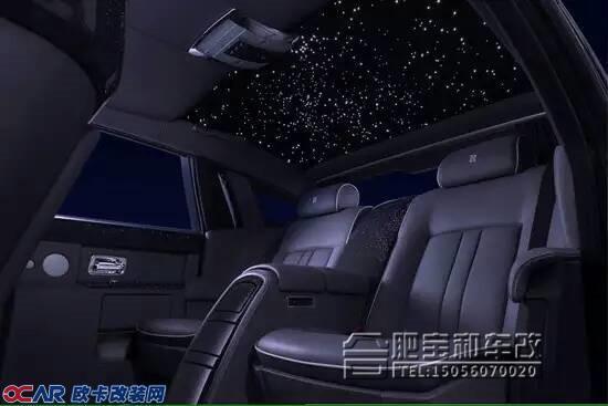 合肥汽车内饰顶棚星空灯LED满天星高清图片