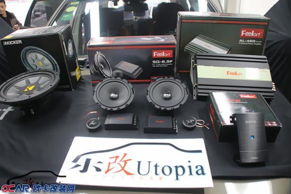 武汉武昌专业音响改装 雪佛兰科帕奇汽车音响改装高清图片