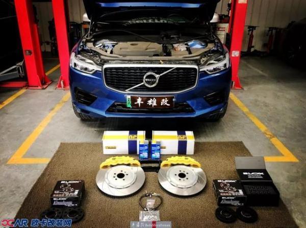 沃尔沃XC60改装AP Racing刹车套件 改装刹车多少钱