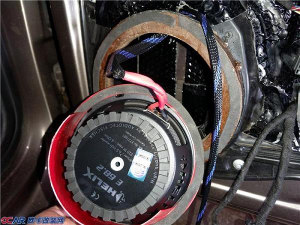 前声场德国喜力仕e62c喇叭安装效果