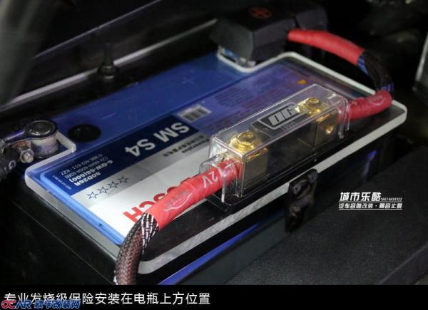 丰田锐志汽车音响改装丹麦绅士宝发烧主动三分频系统