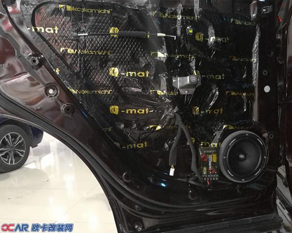东南dx7汽车音响隔音降噪改装 实现你的移动音乐梦想