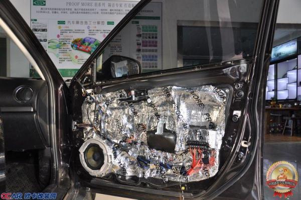 澎湃新体验马自达6汽车音响改装意大利phd fb6.1pro纯