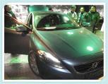 沃尔沃V40加装专车专用解码器,实现导航功能,欧卡改装网,汽车改装