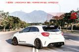 广奔驰A级W176 A45 AMG改装RevoZport碳纤维尾翼前唇后唇大小包围,欧卡改装网,汽车改装