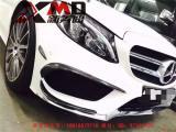 .14-15奔驰W117 CLA碳纤风刀 cla260 CLA250 CLA45 碳纤维风刀前唇,欧卡改装网,汽车改装