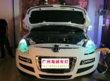 【广州海澜车灯】-东风纳智捷大7改精刚Q5透镜+海拉安定,欧卡改装网,汽车改装